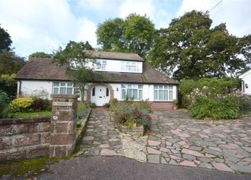 Thumbnail 3 bedroom detached bungalow for sale in Meadway, Sidmouth, Devon