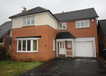 Thumbnail 4 bed detached house to rent in Bloomesley Close, Newton Aycliffe