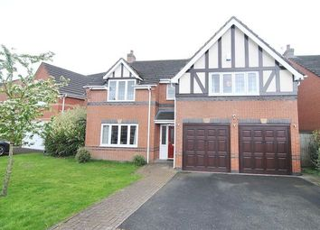 Thumbnail 5 bed detached house for sale in Thornfield, Much Hoole, Preston