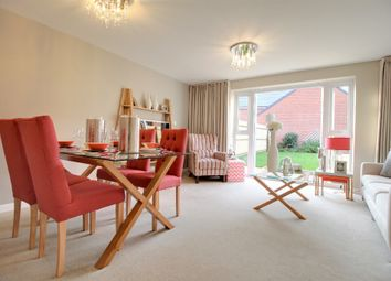 Thumbnail 3 bedroom detached house to rent in Whitty Close, Bowbrook, Shrewsbury