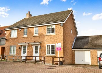 Thumbnail 3 bed semi-detached house for sale in Whistlefish Court, Norwich