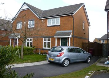 Thumbnail 2 bedroom semi-detached house to rent in Dixon Green Drive, Farnworth, Bolton