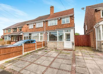 Thumbnail 3 bed semi-detached house for sale in Dorncliffe Avenue, Birmingham