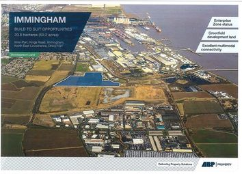 Thumbnail Land for sale in Imm-Port, Kings Road, Immingham, North East Lincolnshire