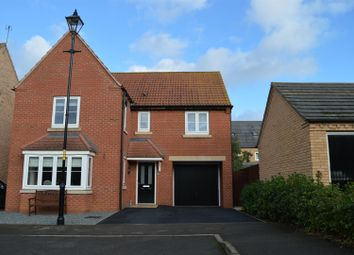 Thumbnail 4 bed detached house for sale in Troon Court, Greylees, Sleaford