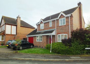 Thumbnail 4 bed detached house to rent in Rainsbrook Close, Southam
