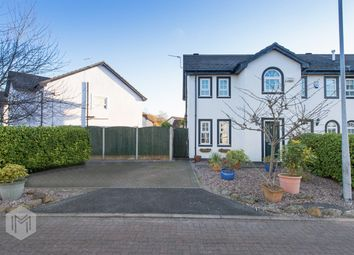 Thumbnail 3 bed semi-detached house for sale in Stonechat Close, Worsley, Manchester