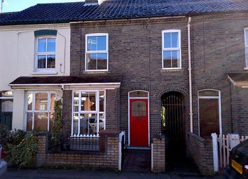 Thumbnail 2 bed terraced house to rent in Hotblack Road, Norwich, Norfolk