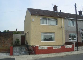 Thumbnail 2 bed end terrace house for sale in Thursby Walk, Kirkby, Liverpool