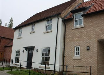 Thumbnail 4 bed detached house to rent in Thrapston Road, Spaldwick, Huntingdon