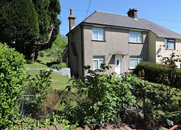 Thumbnail 2 bed semi-detached house for sale in St. Marys Road, Ynysmeudwy, Pontardawe, Swansea