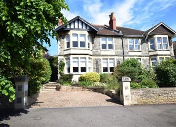 Thumbnail 5 bed semi-detached house for sale in Beach Road East, Portishead, Bristol