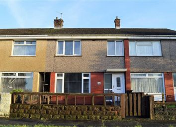 Thumbnail 3 bed terraced house for sale in Caeconna Road, Swansea