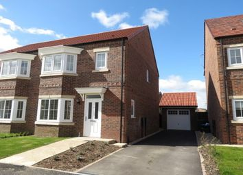 Thumbnail 3 bed semi-detached house to rent in Beverley Road Norton, Malton