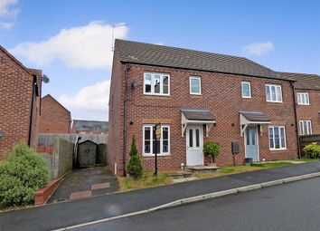 Thumbnail 3 bed semi-detached house for sale in Burtree Drive, Norton Heights, Stoke-On-Trent
