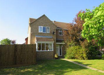 Thumbnail 4 bed detached house for sale in Norman Drive, Stilton, Peterborough