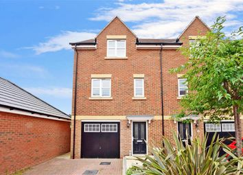 Thumbnail 3 bed town house for sale in Robin Road, Goring-By-Sea, Worthing, West Sussex