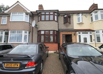 Thumbnail 3 bed terraced house to rent in Rom Crescent, Romford