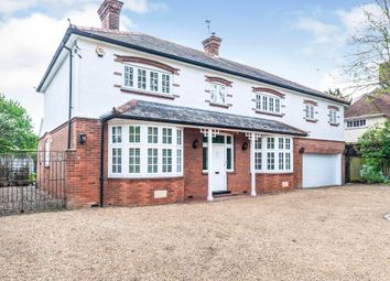 Thumbnail 4 bed detached house for sale in Melbourn Road, Royston