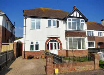 Thumbnail 3 bed flat for sale in Pevensey Road, Worthing, West Sussex