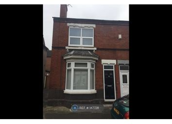 Thumbnail 3 bed end terrace house to rent in Cunningham Road, Doncaster