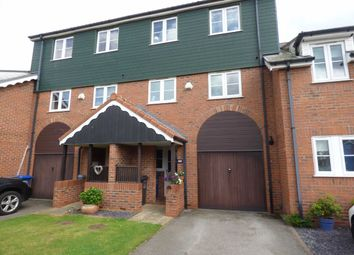 Thumbnail 4 bedroom terraced house for sale in The Moorings, Burton Waters, Lincoln