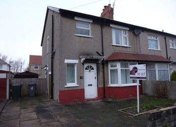 Thumbnail 3 bed semi-detached house to rent in Buckingham Road, Morecambe