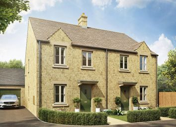 "Thumbnail 3 bed semi-detached house for sale in ""Ashurst"" at Blackberry Walk, London Road, Cirencester"