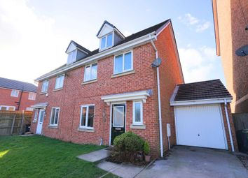 Thumbnail 4 bed semi-detached house for sale in Nuffield Close, Bolton