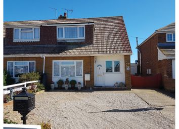 Thumbnail 3 bed semi-detached house for sale in Baldwin Road, New Romney