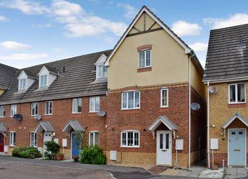 Thumbnail 4 bedroom end terrace house for sale in Sunderland Gardens, Newbury