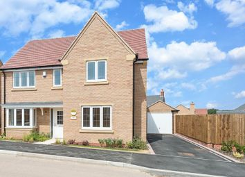 Thumbnail 4 bedroom detached house for sale in Doble Crescent, Hathern, Loughborough