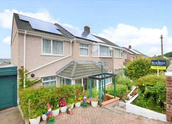 Thumbnail 5 bed semi-detached house for sale in Amados Drive, Plymouth, Devon
