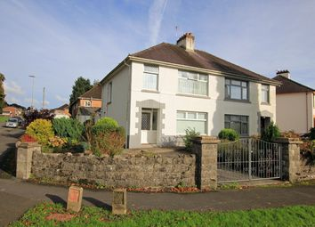 Thumbnail 3 bed semi-detached house for sale in Lime Grove Avenue, Carmarthen, Carmarthenshire