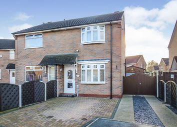 Thumbnail 2 bed semi-detached house for sale in Bibury Close, Hull