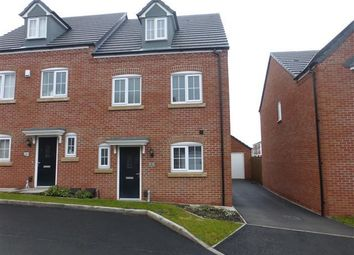Thumbnail 4 bedroom town house to rent in March Drive, Dudley