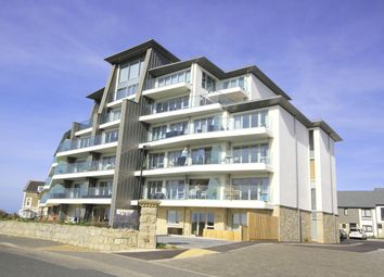 Thumbnail 3 bed flat for sale in Lusty Glaze Road, Newquay