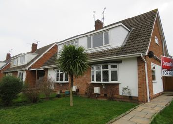 Thumbnail 3 bed semi-detached house for sale in Buxton Close, Whetstone, Leicester