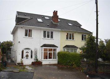 Thumbnail 4 bed semi-detached house for sale in Glen Road, West Cross, Swansea