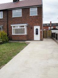 Thumbnail 3 bed semi-detached house to rent in Ellis Avenue, Hucknall, Nottingham