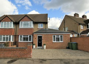 Thumbnail 4 bedroom semi-detached house for sale in Southdown Road, Hersham, Walton-On-Thames