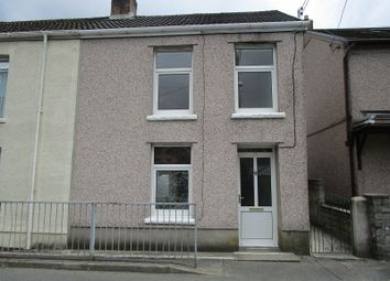 Thumbnail 3 bed end terrace house for sale in Heol Maes Y Dre, Ystradgynlais, Swansea.