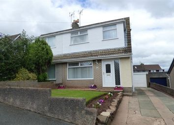 Thumbnail 3 bed semi-detached house for sale in Crompton Drive, Dalton-In-Furness, Cumbria