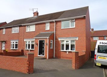 Thumbnail 3 bedroom semi-detached house for sale in Keswick Gardens, Wallsend