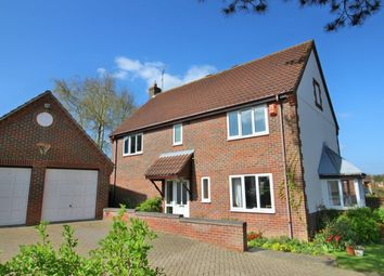 Thumbnail 4 bedroom detached house for sale in Rectory Lane, Worlingham, Beccles