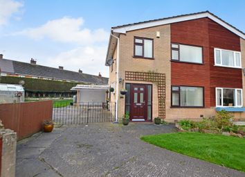 Thumbnail 3 bed semi-detached house for sale in Lynton Place, Broughton, Chester