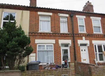 Thumbnail 2 bedroom terraced house for sale in Heath Road, Norwich