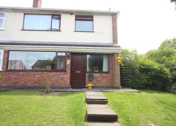 Thumbnail 3 bed semi-detached house for sale in Rush Close, Newbold Verdon, Leicester