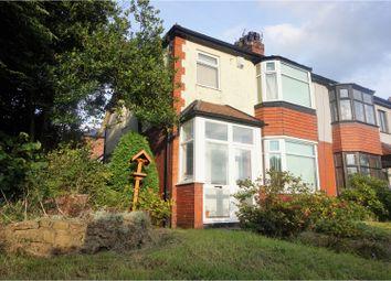 Thumbnail 3 bedroom semi-detached house for sale in Blackburn Road, Bolton