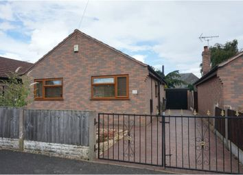 Thumbnail 2 bed detached bungalow for sale in Chapel Street New Houghton, Mansfield